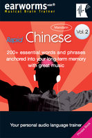 Rapid Chinese Vol. 2 (Mandarin) - earworms MBT