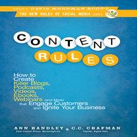 Content Rules - CC Chapman, Ann Hadley