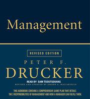 Management Rev Ed - Peter F. Drucker