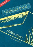 Håbløse slægter - Herman Bang