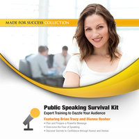 Public Speaking Survival Kit - Brian Tracy, Dianna Booher