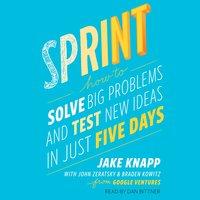 Sprint: How to Solve Big Problems and Test New Ideas in Just Five Days - Braden Kowitz, Jake Knapp, John Zeratsky