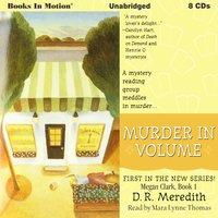 Murder In Volume - D.R. Meredith