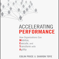 Accelerating Performance: How Organizations Can Mobilize, Execute, and Transform with Agility - Colin Price, Sharon Toye