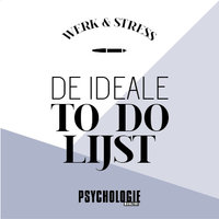 De ideale to do-lijst - Psychologie magazine
