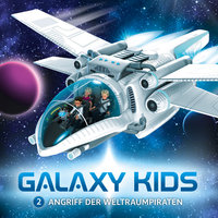 Galaxy Kids - Band 2: Angriff der Weltraumpiraten - Thomas Franke