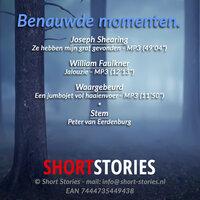 Benauwde momenten - William Faulkner, Joseph Shearing