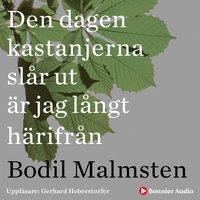 Den dagen kastanjerna slår ut är jag långt härifrån - Bodil Malmsten