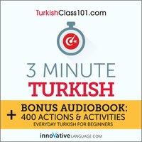 3-Minute Turkish - Innovative Language Learning