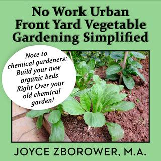 Urban Front Yard Vegetable Gardening