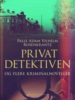 Privatdetektiven og flere kriminalnoveller - Palle Adam Vilhelm Rosenkrantz