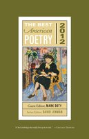 The Best American Poetry 2012 - Mark Doty