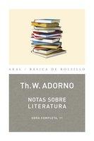 Notas sobre literatura - Theodor W. Adorno