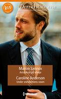 Aristokrat på afveje/Under snestormens rasen - Caroline Anderson, Marion Lennox