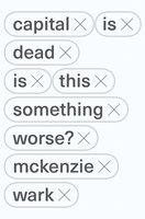 Capital Is Dead - McKenzie Wark