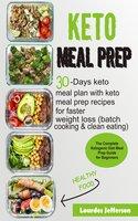 Keto Meal Prep Cookbook - Lourdes Jefferson
