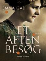 Et aftenbesøg - Emma Gad