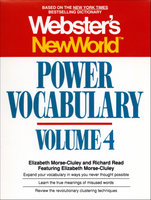 Webster's New World Power Vocabulary, Volume 4 - Elizabeth Morse-cluley,Richard Reed