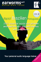 Rapid Brazilian Portuguese Vol. 2 - earworms MBT