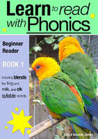Learn to Read with Phonics - Book 1 - Sally Jones