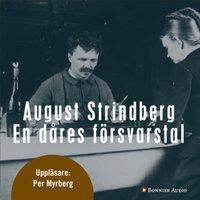 En dåres försvarstal - August Strindberg