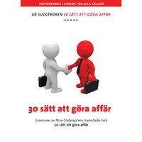 30 sätt att göra affär - Max Söderpalm