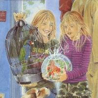 De Olijke Tweeling helpt mee in het dierenasiel - Marion van de Coolwijk