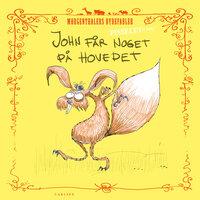 Pisselet at læse: John får noget på hovedet! - Anders Morgenthaler