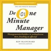De One Minute Manager - Ken Blanchard,Spencer Johnson