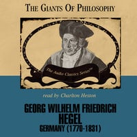 Georg Wilhelm Friedrich Hegel - Prof. John E. Smith