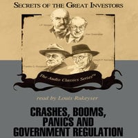 Crashes, Booms, Panics, and Government Regulation - Robert Sobel, Roger Lowenstein