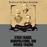 Stock Frauds, Manipulations, and Insider Trading - Thomas D. Saler,Don Christensen