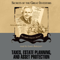 Taxes, Estate Planning, and Asset Protection - Michael Ketcher, Vernon K. Jacobs