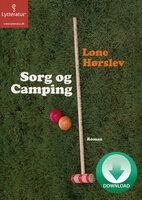 Sorg og camping - Lone Hørslev