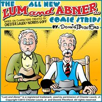 """The All New """"Lum & Abner"""" Comic Strips - Donnie Pitchford"""
