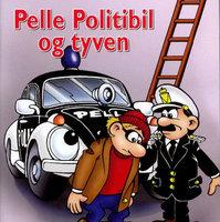 Pelle Politibil og tyven - Åge Magnussen