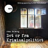 Det er fra kriminalpolitiet - Johs Solberg