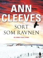 Sort som ravnen - Ann Cleeves