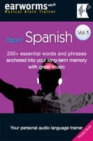 Rapid Spanish Vol. 1 (European) - earworms MBT