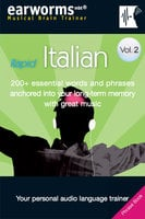 Rapid Italian Vol. 2 - earworms MBT