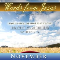Words from Jesus: November - Simon Peterson