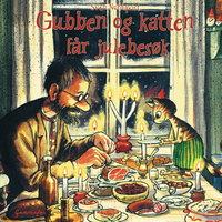 Gubben og katten får julebesøk - Sven Nordqvist