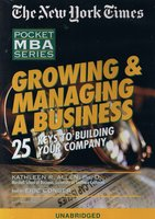 Growing & Managing A Business - Kathleen Allen (PhD)