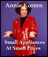 Small Appliances At Small Prices - Annie Korzen