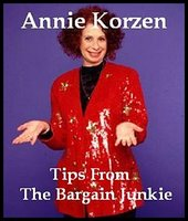 Tips From The Bargain Junkie - Annie Korzen