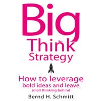 Big Think Strategy: How to Leverage Bold Ideas and Leave Small Thinking Behind - Bernd H. Schmitt