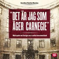 Det är jag som äger Carnegie! - maktspelet om Sveriges mest anrika investmentbank - Karolina Palutko Macéus