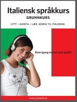 Italiensk språkkurs Grunnkurs - Univerb