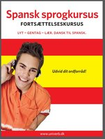 Spansk sprogkursus Fortsættelseskursus - Univerb, Ann-Charlotte Wennerholm