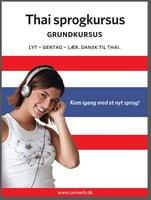 Thai sprogkursus Grundkursus - Univerb,Ann-Charlotte Wennerholm